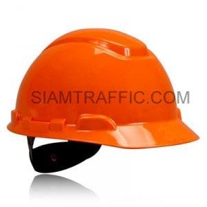 หมวกนิรภัยสีส้ม H706R แบบปรับหมุน