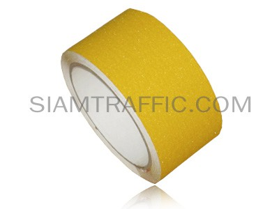 Yellow anti slip tape